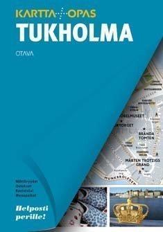 Otava Tukholma matkaopas + kartta