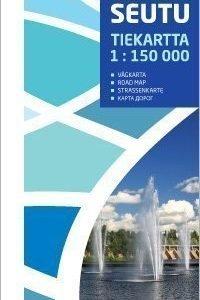 Oulun seutu tiekartta 1:150 000 2012