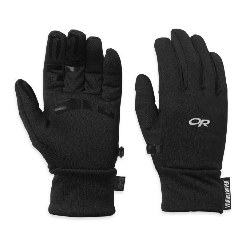 Outdoor Research Backstop Sensor Gloves Men's S Black