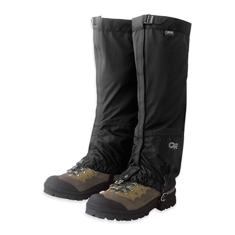 Outdoor Research Cascadia Gaiters XL Black