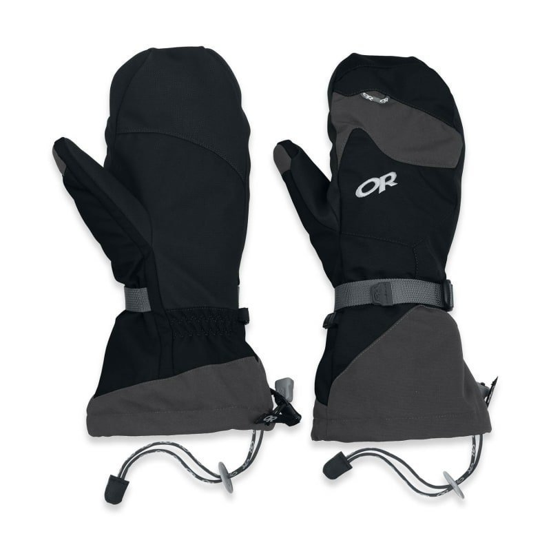 Outdoor Research Meteor Mitts S BLACK/CHARCO
