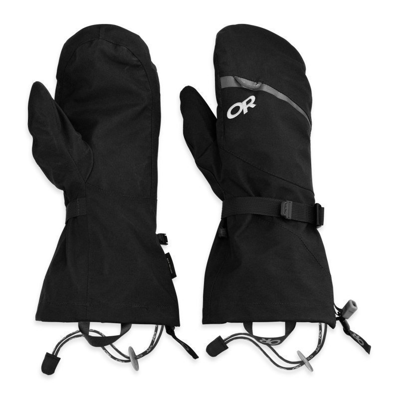 Outdoor Research Mt Baker Modular Mitts L Black