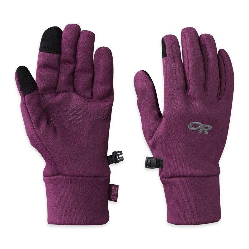 Outdoor Research Pl 100 Sensor Gloves Women's L Elderberry