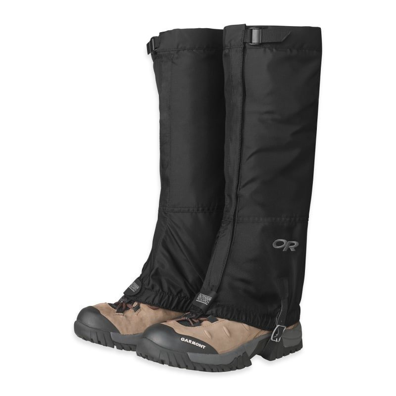 Outdoor Research Rocky Mountain High Gaiters Men's L Black