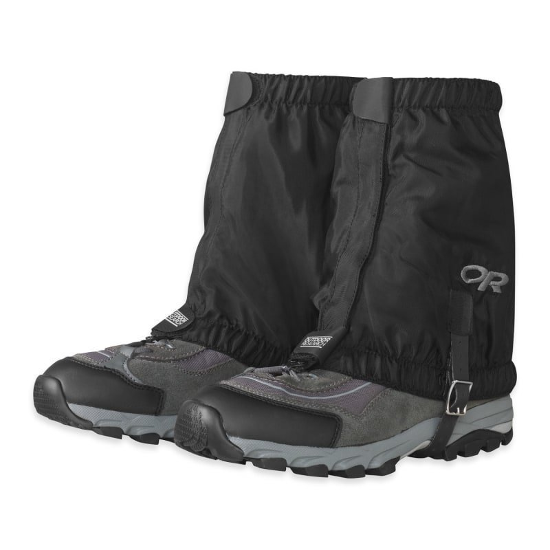 Outdoor Research Rocky Mountain Low Gaiters L/XL Black