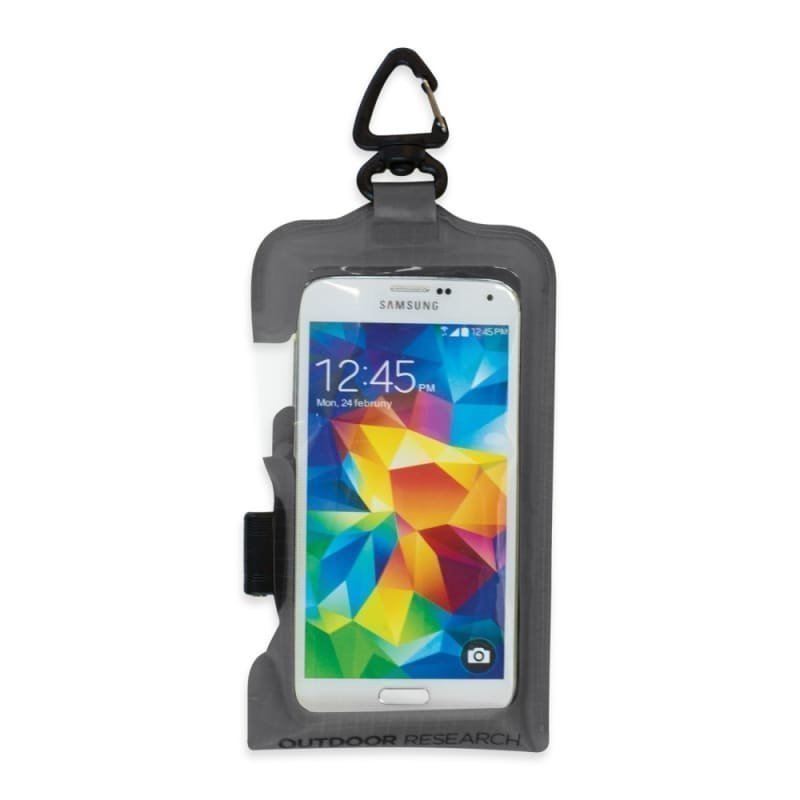 Outdoor Research Sensor Dry Pocket Premium Smartphone 1SIZE Charcoal