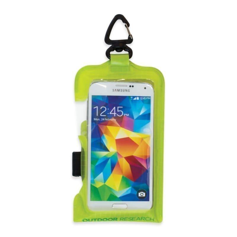 Outdoor Research Sensor Dry Pocket Premium Smartphone 1SIZE Lemongrass