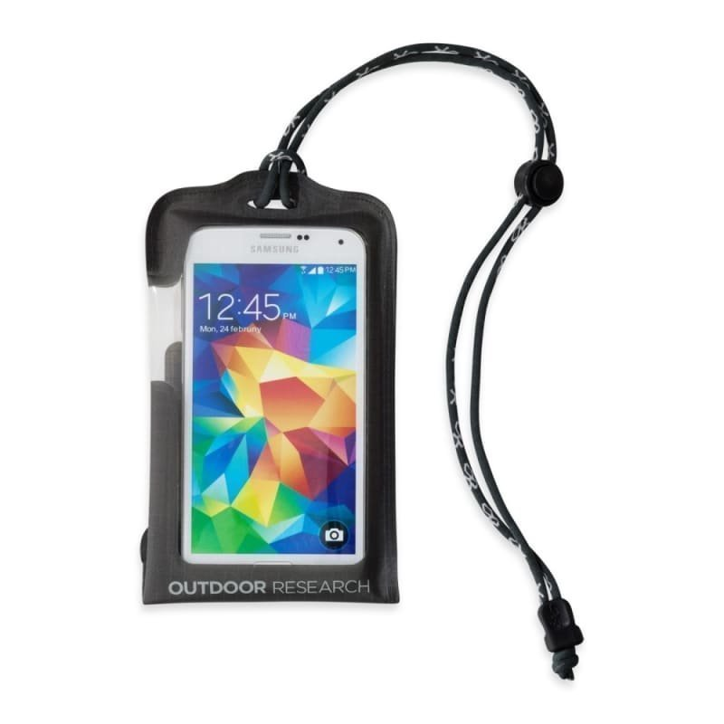 Outdoor Research Sensor Dry Pocket Premium Smartphone LARGE Charcoal