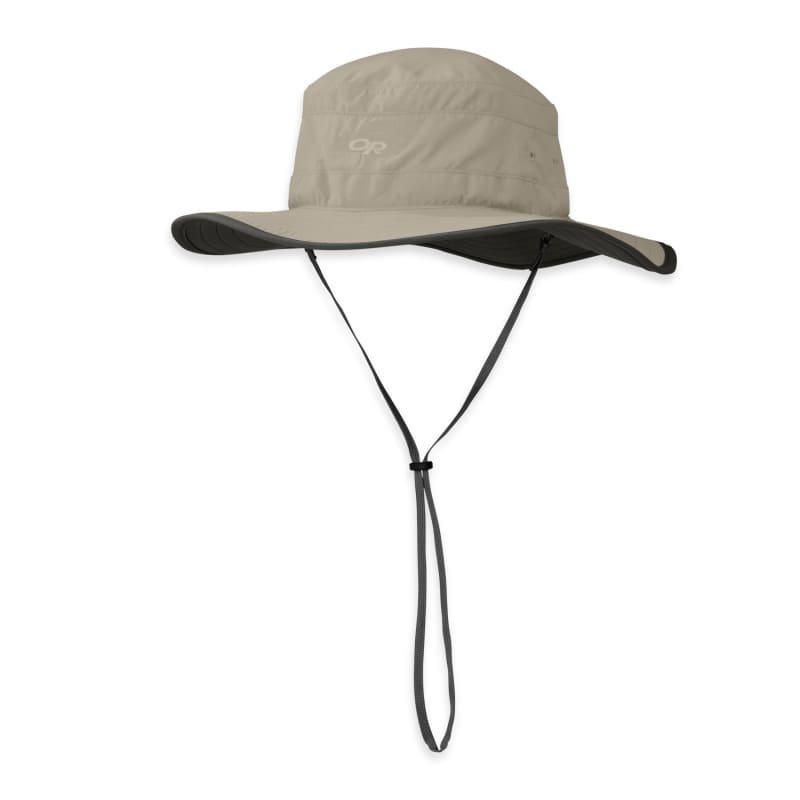 Outdoor Research Solar Roller Hat Women's L KHAKI/DK GRE