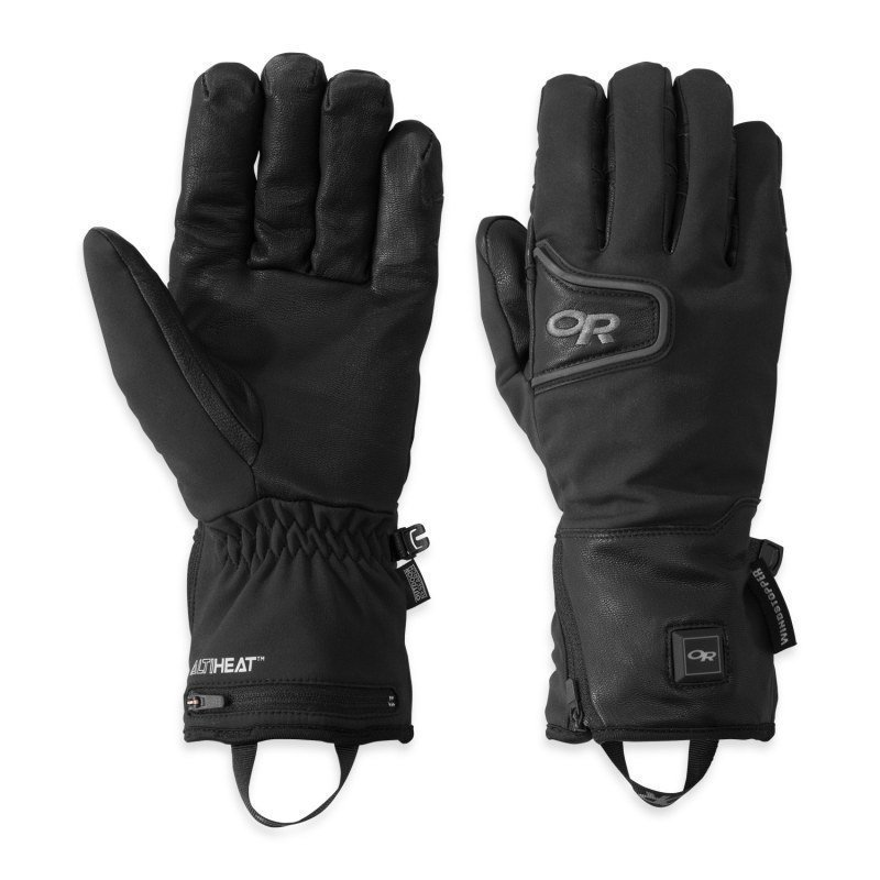 Outdoor Research Stormtracker Heated Gloves L Black
