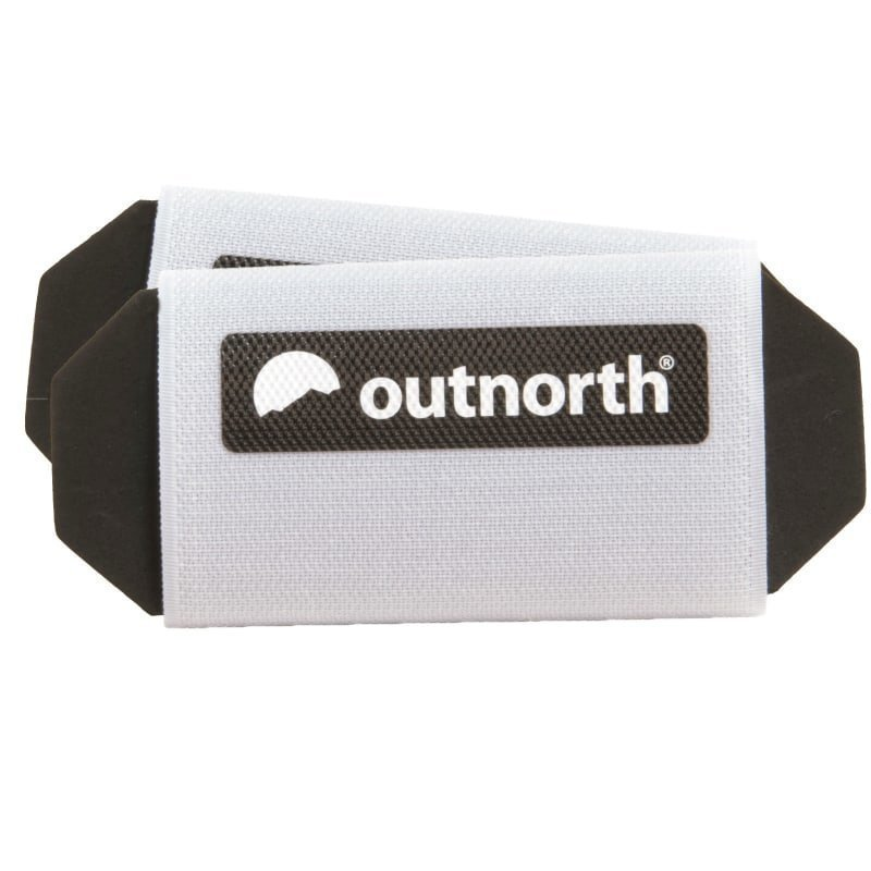 Outnorth Ski Holder Velcro 1SIZE White