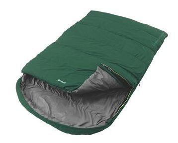 Outwell Campion Lux Double Vihreä makuupussi kahdelle