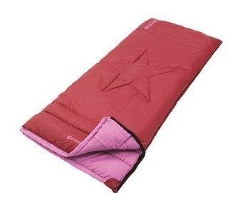 Outwell Cave Kids lasten makuupussi punainen