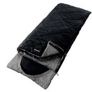Outwell Contour Musta makuupussi