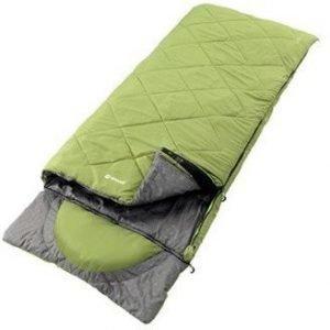 Outwell Contour Vihreä makuupussi