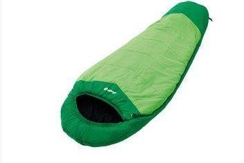 Outwell Convertible Junior makuupussi vihreä