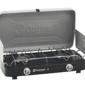 Outwell Gourmet Cooker retkiliesi 2 polttimella ja kannella