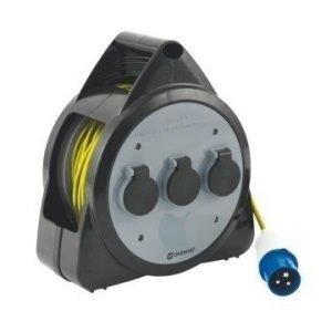 Outwell Roller johtokela USB:lla/ valolla ulkokäyttöön