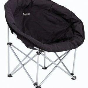 Outwell comfort Chair matkanojatuoli musta