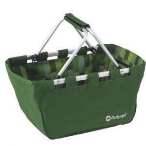 Outwell säilytys / picnic kori vihreä