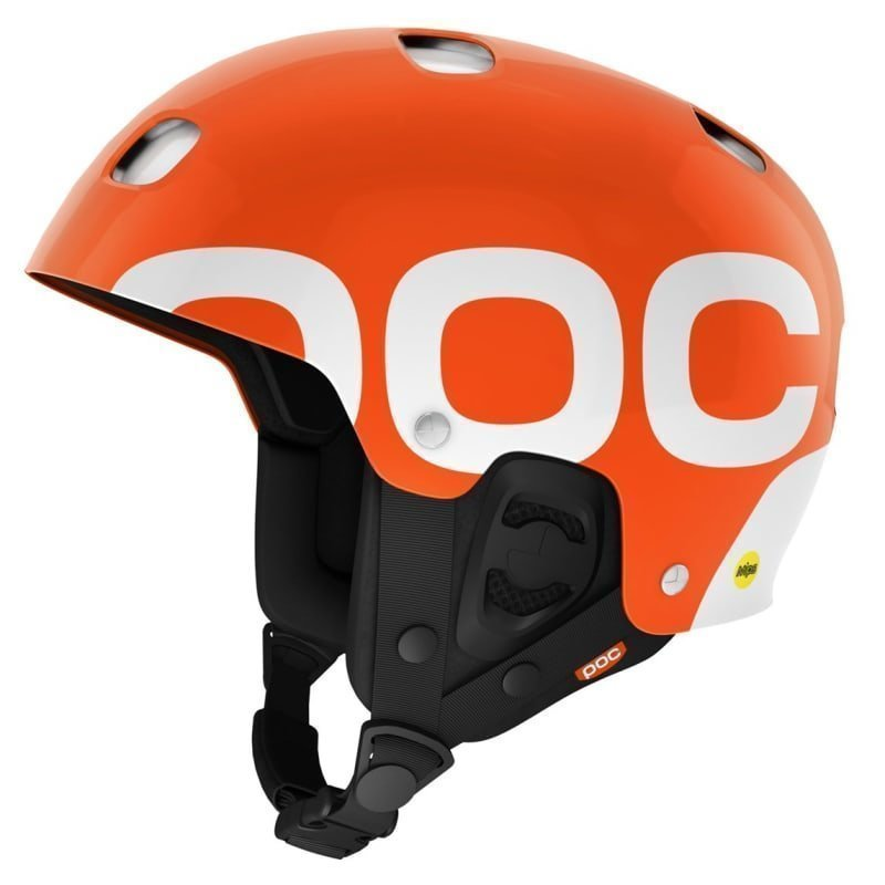POC Receptor Backcountry MIPS XL Iron Orange