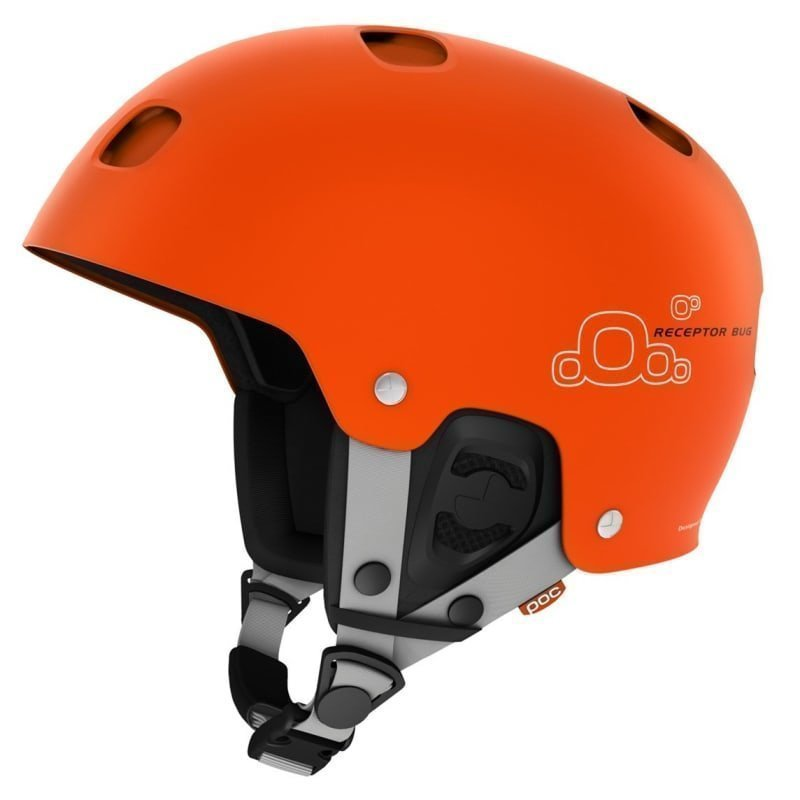POC Receptor Bug M Iron Orange