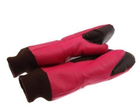 Paccas Youth Mitten Fuksia 8