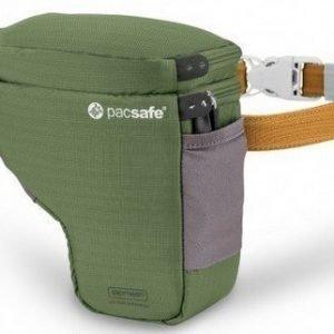 Pacsafe Camsafe V2 vihreä kameran turvalaukku