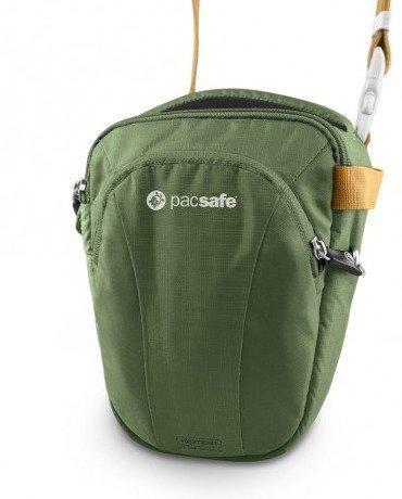 Pacsafe Camsafe V3 vihreä kameran turvalaukku