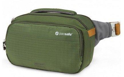 Pacsafe Camsafe V5 vihreä kameran turvalaukku