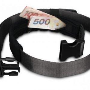 Pacsafe CashSafe 25 musta deluxe rahavyö