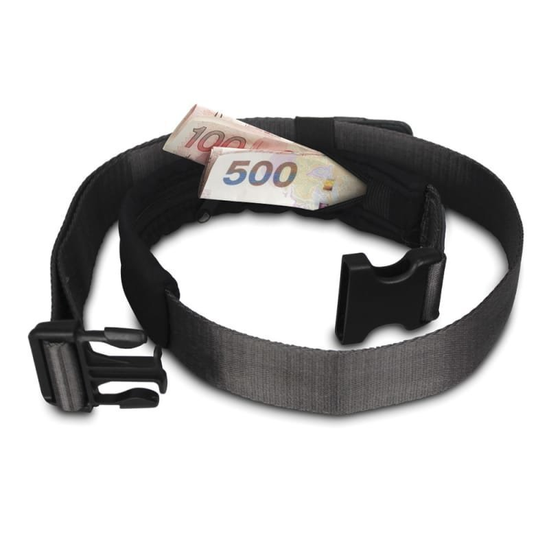 Pacsafe Cashsafe 25 Deluxe Travel Belt Wallet ONESIZE Black