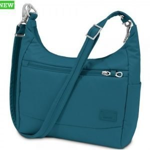 Pacsafe Citysafe CS100 turvakäsilaukku sininen