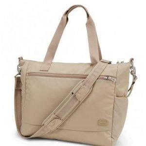 Pacsafe Citysafe CS400 turvakäsilaukku manteli