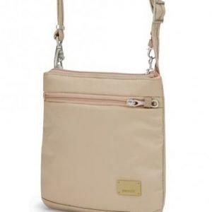 Pacsafe Citysafe CS50 turvakäsilaukku manteli