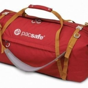Pacsafe Duffelsafe AT100 matkakassi chili/khaki