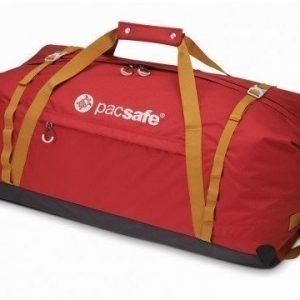 Pacsafe Duffelsafe AT120 matkakassi chili/khaki