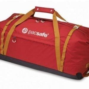 Pacsafe Duffelsafe AT120 matkakassi chili/khaki