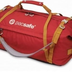 Pacsafe Duffelsafe AT80 matkakassi chili/khaki