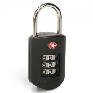Pacsafe Prosafe 1000 musta TSA-hyväksytty lukko