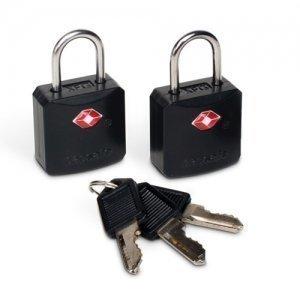 Pacsafe Prosafe 620 TSA-hyväksytty avainlukko keltainen