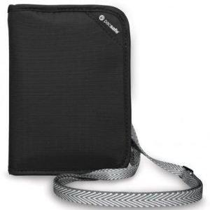 Pacsafe RFIDsafe V150 RFID turvalompakko musta