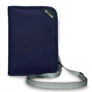 Pacsafe RFIDsafe V150 RFID turvalompakko sininen