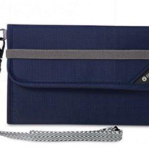 Pacsafe RFIDsafe V250 matkalompakko sininen