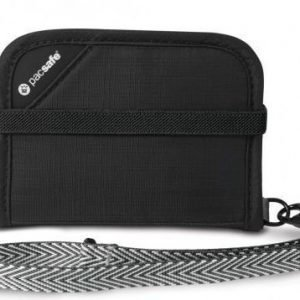 Pacsafe RFIDsafe V50 RFID suojattu lompakko musta