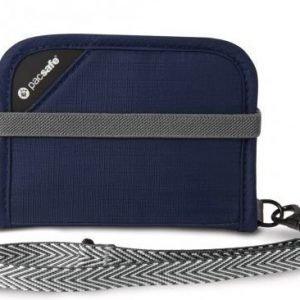 Pacsafe RFIDsafe V50 RFID suojattu lompakko sininen