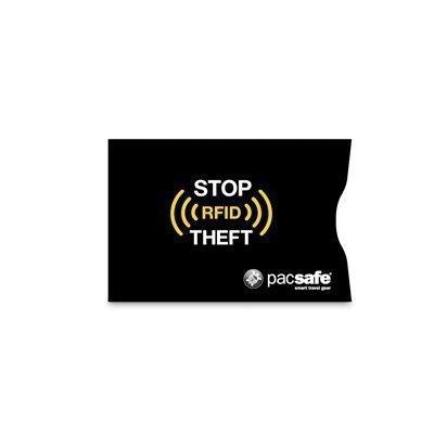 Pacsafe RFIDsleeve 25 luottokorttisuoja musta 2 pack