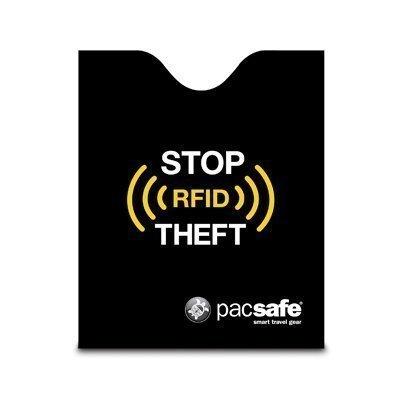Pacsafe RFIDsleeve 50 passinsuoja musta