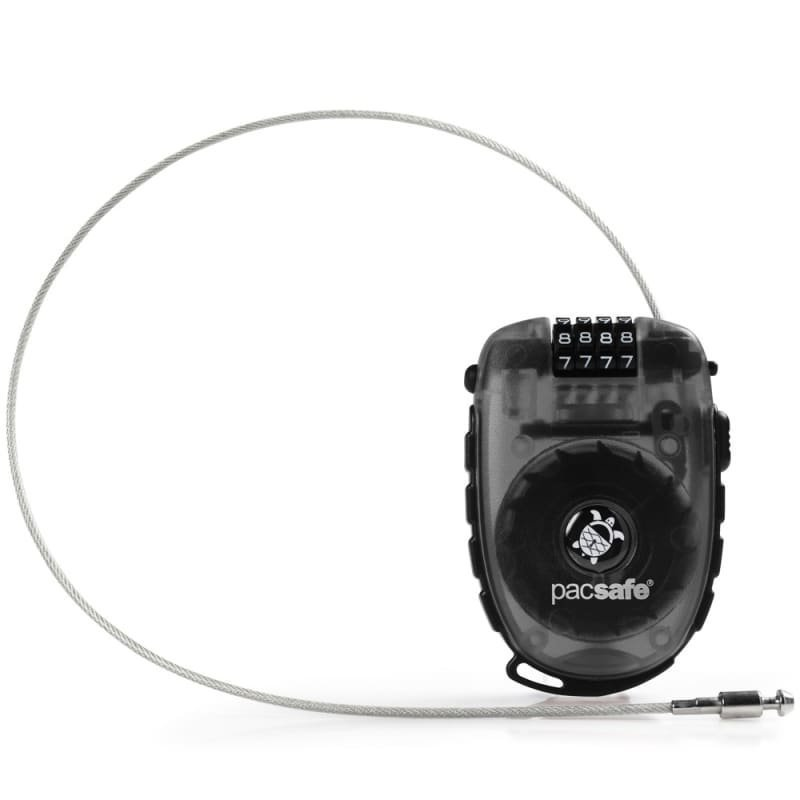 Pacsafe Retractasafe 250 4-dial Retractable Cable Lock ONESIZE Smoke