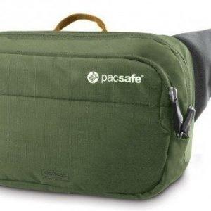 Pacsafe Venturesafe 100 GII olive/khaki turvavyölaukku